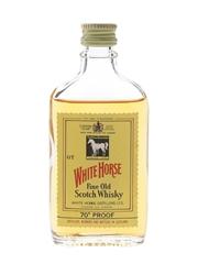 White Horse Bottled 1970s 5cl / 40%