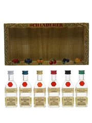 Schladerer Eau De Vie Miniatures Germany 6 x 3cl / 42%