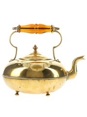 Brass Hot Toddy Kettle James Clews of Birmingham