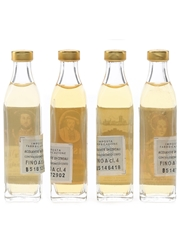 King Henry VIII, Lord Salisbury, Parliament & Queen Mary Bottled 1970s 4 x 1.1cl