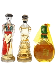 Assorted Spanish Brandy  3 x 10cl-15cl
