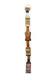 Stock Liqueurs And Spirits Stock 84, Grappa Julia, Park Gate, Stock Cherry 4 x 3cl