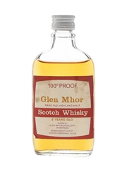 Glen Mhor 8 Year Old 100 Proof Bottled 1970s - Gordon & MacPhail 5cl / 57%