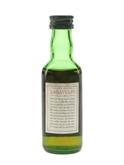 Lagavulin 12 Year Old Bottled 1980s - White Horse Distillers 5cl / 43%