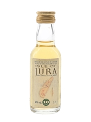 Isle Of Jura 10 Year Old Bottled 1990s 3cl / 40%