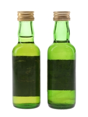 Glenforres 12 Year Old & Sheep Dip 8 Year Old Bottled 1980s 2 x 5cl