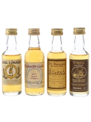 Gael Lonach, Kindrochit Castle, Old Inverness & Te Bheag Nan Eilean Bottled 1980s 4 x 5cl / 40%