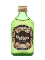 Glenfiddich 8 Year Old Bottled 1970s 4.7cl / 40%