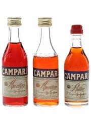 Campari Aperitif & Bitter  3 x 5cl