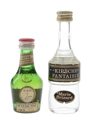 Benedictine DOM & Kirsche Fantaisie Bottled 1970s 3cl & 5cl