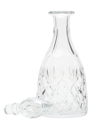 Crystal Decanter With Stopper Thomas Webb, England 30cm x 10.5cm