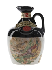 Rutherford's 12 Year Old Ceramic Decanter Bottled 1970s - Montrose Potteries 18.9cl / 40%