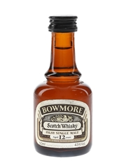 Bowmore 12 Year Old Bottled 1980s 5cl / 43%