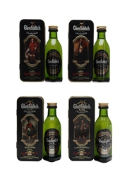 Glenfiddich Special Reserve Clans Of The Highlands Set 4 x 5cl / 43%