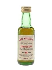 Springbank 12 Year Old Cask 226 James MacArthur's 5cl / 59.8%