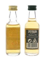 Dufftown Glenlivet & Speyburn 10 Year Old  2 x 5cl / 40%