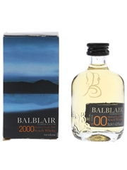 Balblair 2000 Bottled 2011 - 1st Release 5cl / 43%