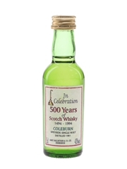 Coleburn 1981 James MacArthur's - 500 Years Of Scotch Whisky 5cl / 43%