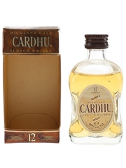 Cardhu 12 Year Old Bottled 1990s 5cl / 40%
