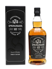 Springbank 12 Year Old 175th Anniversary 70cl / 46%