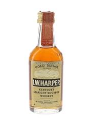 I W Harper 6 Year Old Gold Medal Bottled 1970s 4.7cl / 43%