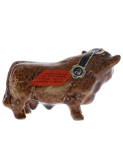 Rutherford's Bull Ceramic Miniature Bottled 1970s 4.7cl / 40%
