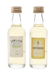 St Michael Lowland & Speyside Single Malt Marks & Spencer 2 x 5cl / 40%