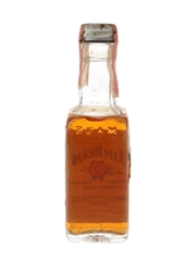 Jim Beam 4 Year Old Bottled 1970s-1980s 4.7cl / 40%