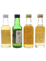 Assorted Single Malt Scotch Whisky Aberdeen Millennium, Clan Malt, Dufftown Tower & Secret Bunker 4 x 5cl / 40%