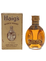Haig's Dimple Spring Cap Bottled 1940s-1950s 5cl / 40%