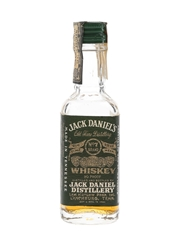 Jack Daniel's No.7 Green Label Bottled 1970s - Soffiantino 4.7cl / 45%