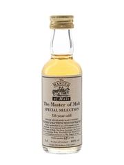 Master Of Malt 10 Year Old Special Selection Single Highland Malt Whisky 5cl / 40%