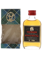 Talisker Black Label Gold Eagle 70 Proof Bottled 1970s - Gordon & MacPhail 5cl / 40%