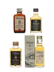 Ballantine's Finest & 12 Year Old  4 x 5cl