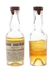 Chartreuse Yellow Bottled 1941-1956 2 x 3cl / 43%