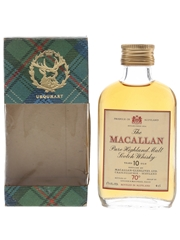 Macallan 10 Year Old Bottled 1970s - Gordon & MacPhail 4cl / 40%