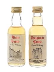 Prestonfield House Airlie Castle & Craigievar Castle  2 x 5cl / 40%