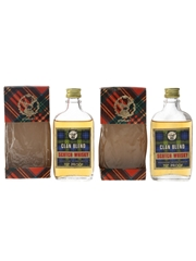 Clan Blend Bottled 1970s 2 x 5cl / 40%