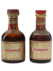Drambuie Bottled 1960s & 1970s 2 x 5cl / 40%