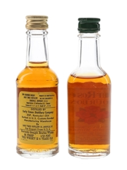 Early Times & Four Roses Bottled 1970s 2 x 4.7cl / 43%