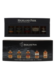 Highland Park Tasting Collection 12, 15, 18, 25 & 30 Year Old 5 x 5cl