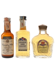 Canadian Club, Canadian Lord Calvert & Crown Royal