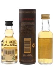 Balblair Elements & Glenmorangie 10 Year Old Bottled 2000s 2 x 5cl / 40%