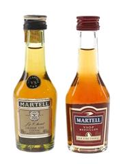 Martell 3 Star VS & Medaillon VSOP  2 x 3cl / 40%