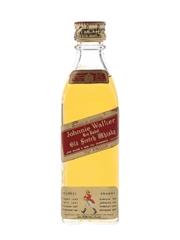 Johnnie Walker Red Label Bottled 1960s 5cl / 40%