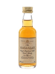 Macallan 10 Year Old Bottled 1990s 5cl / 40%