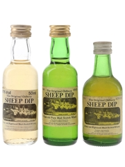 Sheep Dip 8 Year Old Bottled 1980s 3 x 5cl / 40%