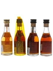 Assorted Torres Brandy Gran Torres, 10 Year Old, Hors d'Age & 5 Year Old 4 x 4.2cl-4.6cl