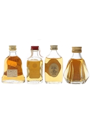 Bell's, Highland Clan, Macleay Duff & Something Special Bottled 1980s 4 x 3.7cl-4.7cl
