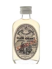 Glen Grant 8 Year Old 100 Proof Bottled 1970s - Gordon & MacPhail 5cl / 57%